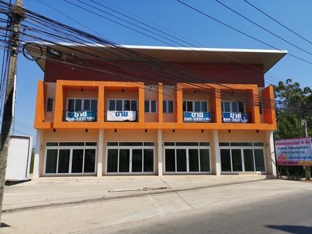 ขายอาคารพาณิชย์  2  ชั้น  ใกล้ตลาดศรีเมือง ตรงข้ามหมู่บ้านเดอะโฟลว์ จังหวัดราชบุรี