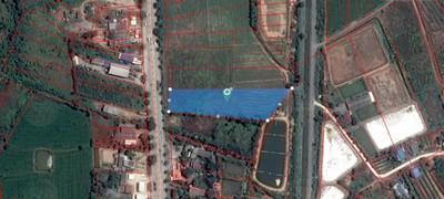 ขายที่ดินถูก ทำเลดี 5 ไร่ ติดถนนใหญ่ อ.กำแพงแสน นครปฐม ไร่ละ 2.4 ลบ. 093-892-4954