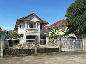 บ้านเดี่ยว หมู่บ้านมณียา ต.ไทรม้า อ.เมือง จ.นนทบุรี เนื้อที่ 73 ตรว.