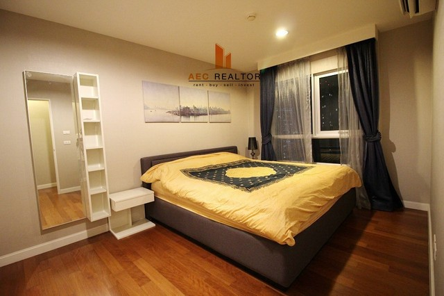 For Rent Condo Belle Grand Ratchada - Rama 9  Building A2, on 27th floor, 98 Sqm.,2 Bed
