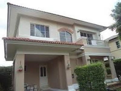 ขายบ้านเดี่ยว 2 ชั้น หมู่บ้านชัยพฤกษ์ 1 ถนน 345 บางคูวัด ใกล้สะพานนนทบุรี