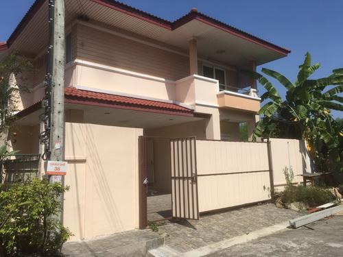 บ้านเดี่ยว 2 ชั้น ม.ระเบียงสวน4 ซอย3 เป็นที่ชุมชน  ประเวศ จ.กรุงเทพมหานคร