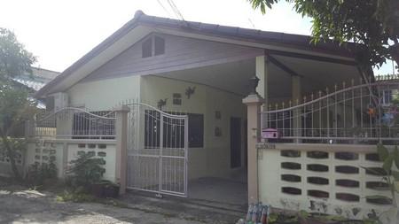ขายบ้านเดี่ยวชั้นเดียว สภาพดี เนื้อที่ 54 ตรว. บ้านสวน  จังหวัดชลบุรี