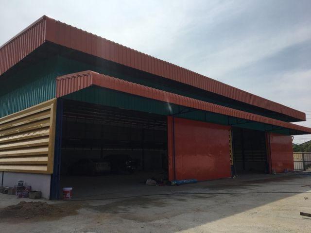 รหัส R764 ให้เช่า โกดังเพิ่งสร้างเสร็จ ย่านร่มเกล้า ใกล้สนามบินสุวรรณภูมิ