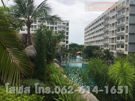 ขายดาวน์คอนโดแบบStudio 1ห้องน้ำ22.93ตรม. พร้อมเฟอร์นิเจอร์ เครื่องใช้ไฟฟ้า สระว่ายน้ำรอบโครงการ Laguna Beach Resort3 (The Maldives) ชลบุรี ใกล้Central