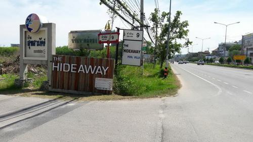 ที่ดิน  2-1-46 ไร่ ใกล้โรงพยาบาลหัวหินติดหัวหินซอย 9  ติดถนนเพชรเกษม