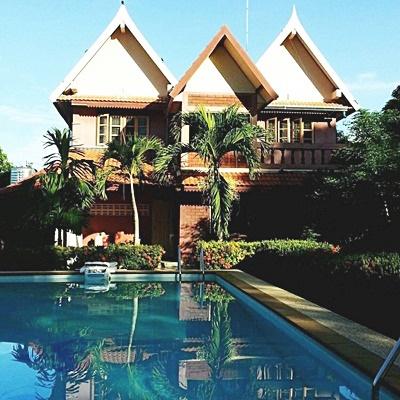 บ้านเดี่่ยวทรงไทยเรือนแฝด ไม้มะค่า ตำบลทุ่งขนาน อำเภอสอยดาว จันทบุรี 7-2-95 ตรว.