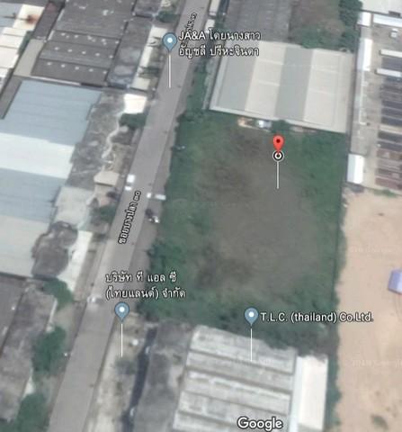 ขายที่ดิน  เทพารักษ์  บางพลี  เกือบ 2 ไร่ สร้าง โรงงาน  ใกล้คลองส่งน้ำ สุวรรณภูมิ