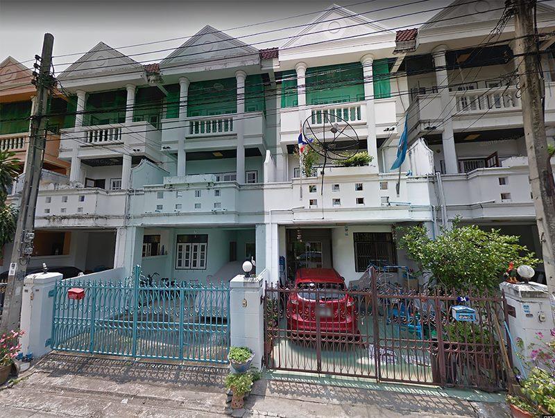 Projects-010 – ขาย ทาวน์เฮ้าส์ 3 ชั้น ซอย กรุงเทพ-นนท์ 7 แยก 3 เนื้อที่ 19 ตร. ว. นนทบุรี