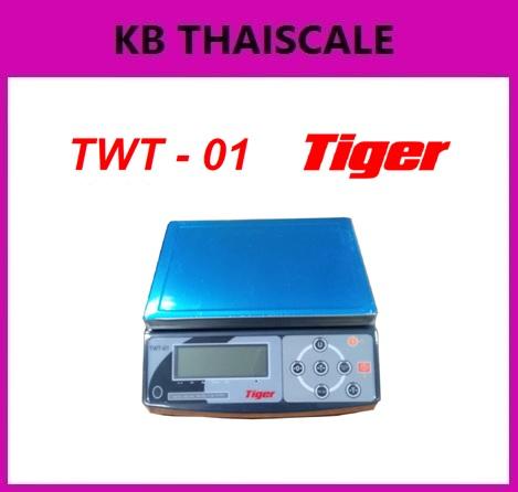 เครื่องชั่งตั้งโต๊ะ 15,30kg ยี่ห้อ Tiger รุ่น TWT-01 ราคาพิเศษ
