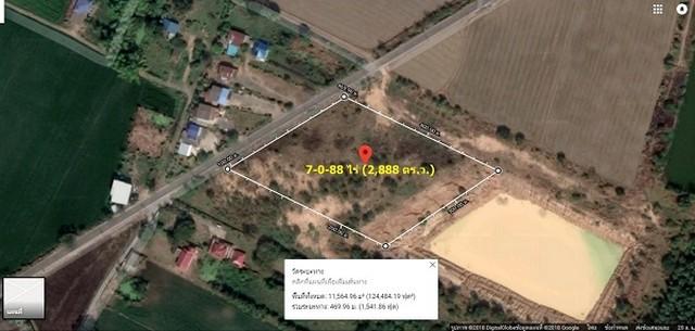 ขายที่ดินถมแล้ว 7 ไร่ 88 ตรว ใกล้มอเตอร์เวย์บางปะอิน – โคราช ซอยวัดหนองอ่างทอง อำเภอหนองแค สระบุรี