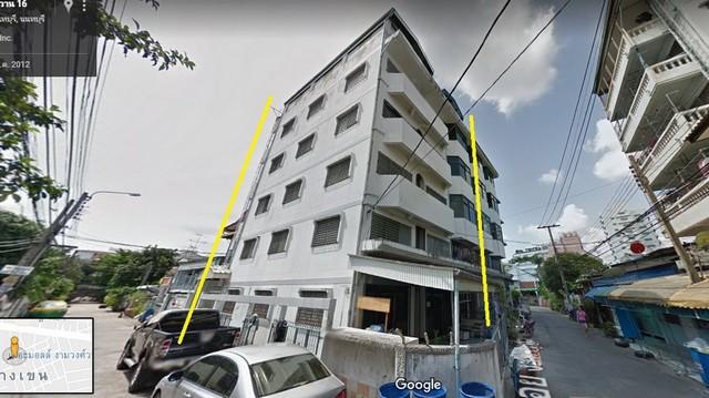 ขายด่วน หอพัก อาคารพาณิชย์ 3 คูหา 6 ชั้น 55 วา ทำเลดี ตรงข้าม ห้างพันธ์ทิพย์งามวงศ์วาน