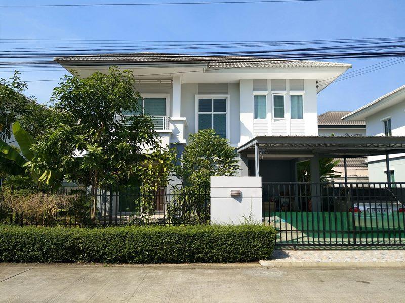 61553 บ้านเดี่ยว 2 ชั้น ม.พฤกษาวิลเลจ เดอะซีซั่น คลอง3