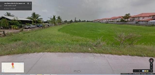 ขายที่ดินเปล่า บงกช 59 ถนนกว้างที่สุดในซอย บงกช 12 เมตร พื้นที่ 808 วา หน้าที่กว้าง 30 เมตร