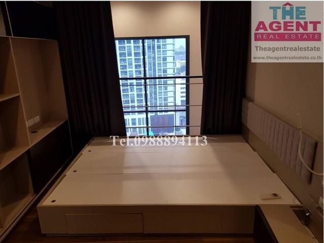 ขายด่วน คอนโด Onyx (แสนสิริ) ห้อง Duplex 43.42 ตร.ม. 1 นอน 1 น้ำ ชั้น 17 ชั้นสูงวิวดี ทำเลดีใกล้ BTS