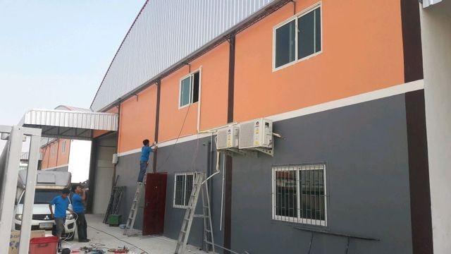 ให้เช่าโกดังสร้างใหม่พร้อมออฟฟิศ 2 ชั้น พื้นที่ขนาด 500 ตรม. เมืองสมุทรสาคร