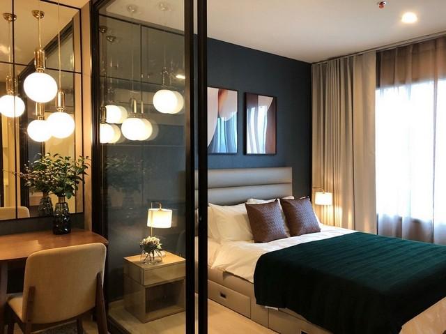Rent/ให้เช่า Life Asoke อาคาร South ชั้น 25 ขนาด 29 ตร.ม. แบบ 1 ห้องนอน 1 ห้องน้ำ ทิศตะวันตก