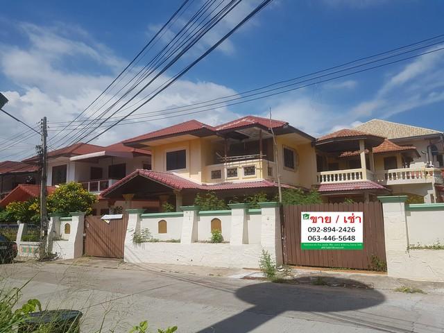 ขายบ้านเดี่ยว หมู่บ้านเอกมงคล2/2 ซอยเขาตาโล 6.0 ลบ. หลังริม มีสระว่ายน้ำในตัว