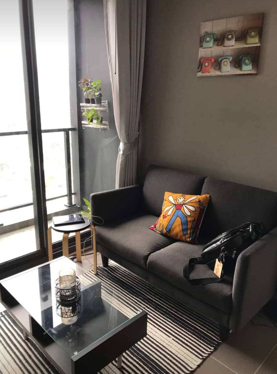 +++ For rent 1 bedroom M ladprao condo near mrt phaholyothin , central ladprao ++