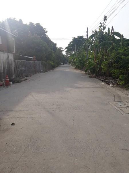ขายที่ดินถูกศรีสมาน-ติวานนท์ 108 ตรว ด้านหลังโรงเรียนหอหวัง ปากเกร็ด นนทบุรี