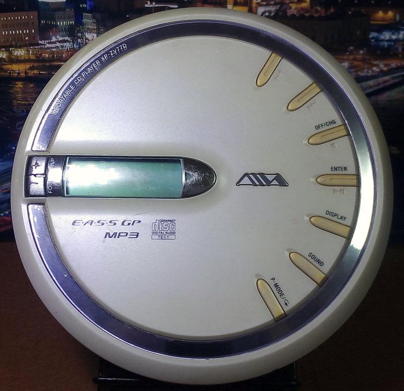 CD Walkman AIWA XP-ZV77D มือสอง