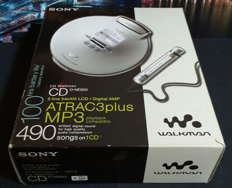 CD Walkman Sony D-NE920 มือสอง