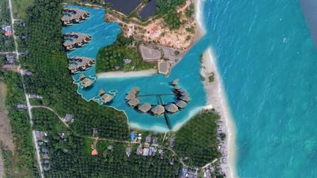 ขายที่กระบี่ทำเลดี ติดทะเลอันดามันเนื้อที่ดิน  25  ไร่ สามารถซื้อเพิ่มเติมได้ถึง  120 ไร่