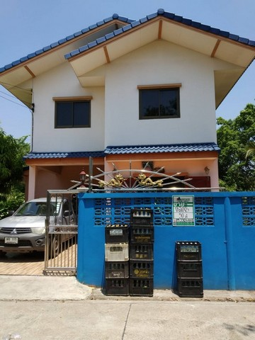 ขายบ้านเดี่ยว 2ชั้น สร้างเอง ซ.สุสวาส2 คลอง7ธัญญะ เนื้อที่50 ตร.วา 4นอน 2น้ำ