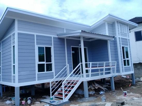 บ้านน็อคดาวน์ รับสร้างบ้านสำเร็จรูป ไม่แพง