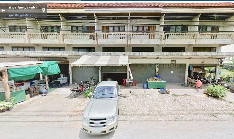 64751 – ขาย อาคารพาณิชย์ 2 ชั้นครึ่ง 3คูหา หนองปากโลง จ. นครปฐม หลังราชภัฏนครปฐม