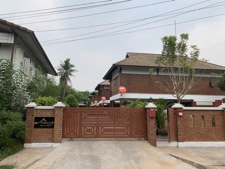 ขายบ้านกลางเมือง หนองคาย บ้านปูนลายไม้ 4 หลัง พร้อมที่ดิน เนื้อที่ 348 ตารางวา