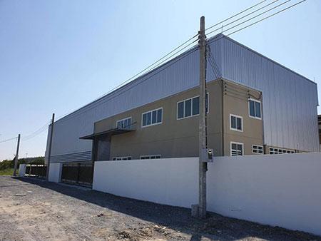 SALE or RENT อาคารโกดังพร้อมสำนักงาน 2 ชั้น ติดวงแหวนบางนา-บางปะอินและทางด่วนบูรพาวิถี ตรงข้ามเมกาบางนา