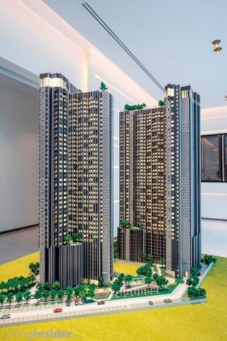 ขายดาวน์คอนโด Life ladprao ตำแหน่งสวย 1 Bed+ชั้นสูง ห้อง B1-25 แบบ Size 35 ตรม. ทิศเหนือ