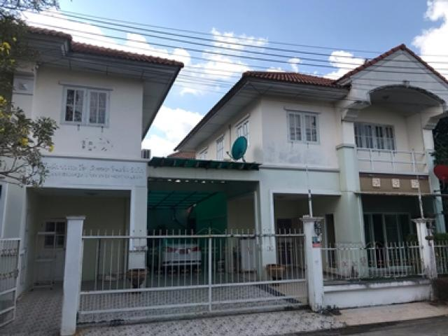 ขายบ้านแฝดย่านพระราม 2 เอกชัย ในราคาขาดทุน  หมู่บ้านบุรีรมย์ พระราม 2 เอกชัย เนื้อที่ 37.1 ตรว.