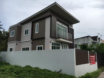 ขายบ้านสมุทรสงคราม บ้านแม่กลอง บ้านถนนเอกชัย บ้านเดี่ยว 60 ตร.ว. บ้านใหม่ หลังใหญ่ สวยงาม ราคาถูก aaa