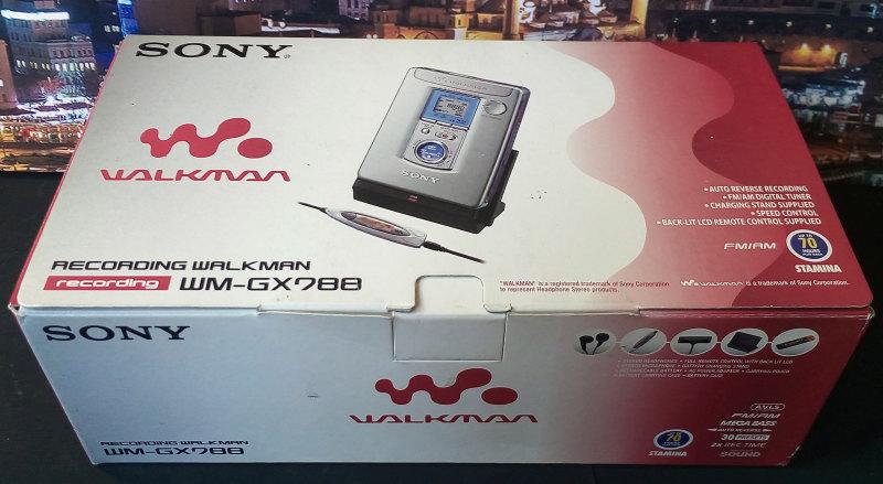 ซาวน์เบาท์ เทป Sony Walkman WM-GX788 ของใหม่ มือหนึ่ง