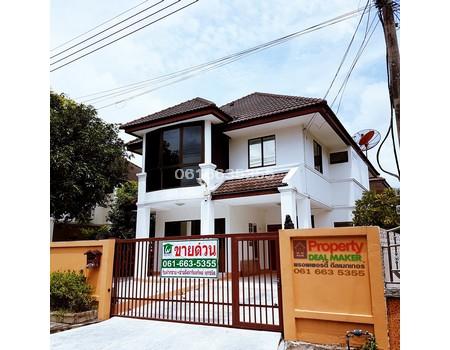 ขายบ้านเดี่ยว 2ชั้น 4.5ล ใกล้ฟิวเจอร์ สัมมากร รังสิต คลอง2 3นอน 3น้ำ 63ตรม Sammakorn Rangsit–Klong2