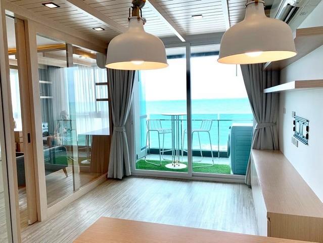 ให้เช่า คอนโด ดิ อัลติเมท ริเวอร์ บีช คอนโดสุดหรู ห้องใหม่เอี่ยม 1 Bed 44 ตรม.ชั้น 6 วิวทะเล