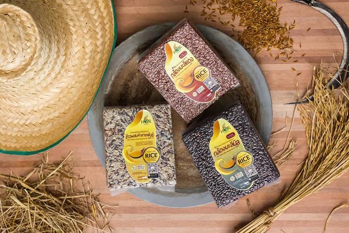 ข้าวอินทรีย์ ข้าวออร์แกนิค ข้าวสุขภาพ ข้าวเกษตรอินทรีย์ ข้าวเพื่อสุขภาพที่ดี จากแหล้งปลูกข้าวจังหวัดสุรินทร์ (สุรินทร์) มาตรฐานออร์แกนิคไทยแลนด์ (Organic Thailand)
