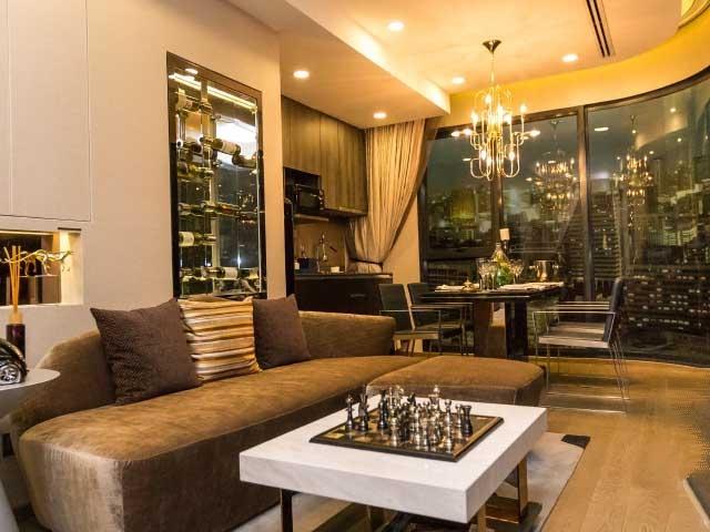 B61-1042 ขายคอน แอชตัน จุฬา-สีลม Ashton Chula-Silom พื้นที่ 63 ตรม 2นอน2น้ำ ชั้น 21